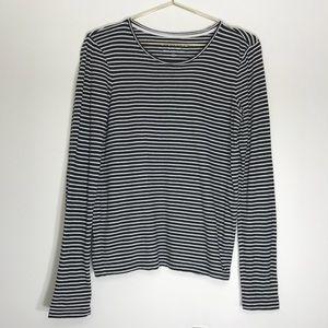 Everlane striped long sleeve cotton t shirt